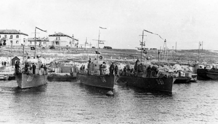 boats of the MO-4 project