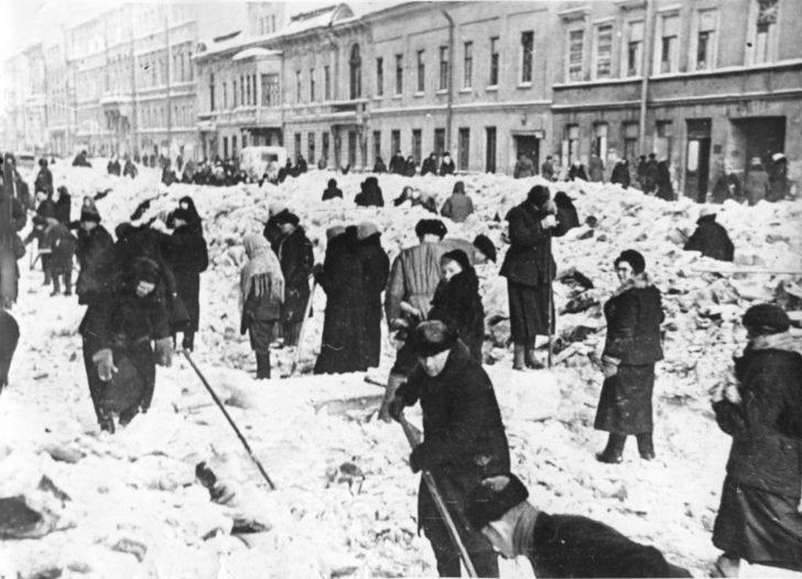 Leningrad besieged by the Nazis