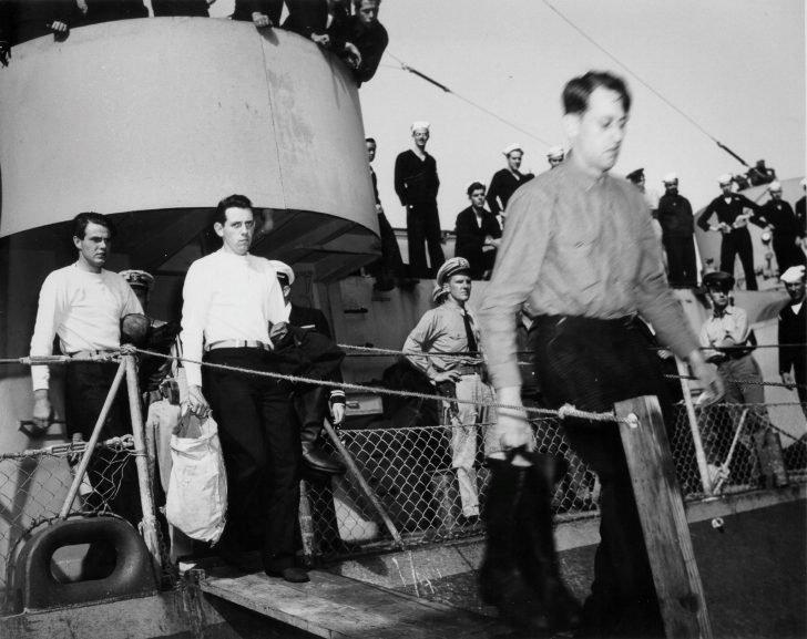 Captured German submariners