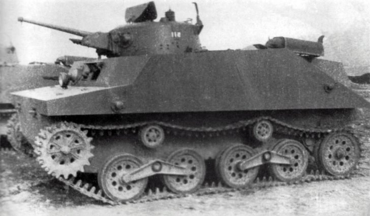 Type 2 Ka-Mi amphibious tanks