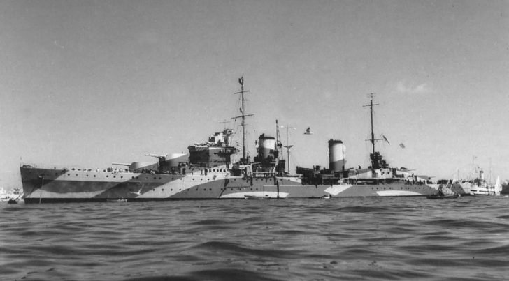 Perth light cruiser