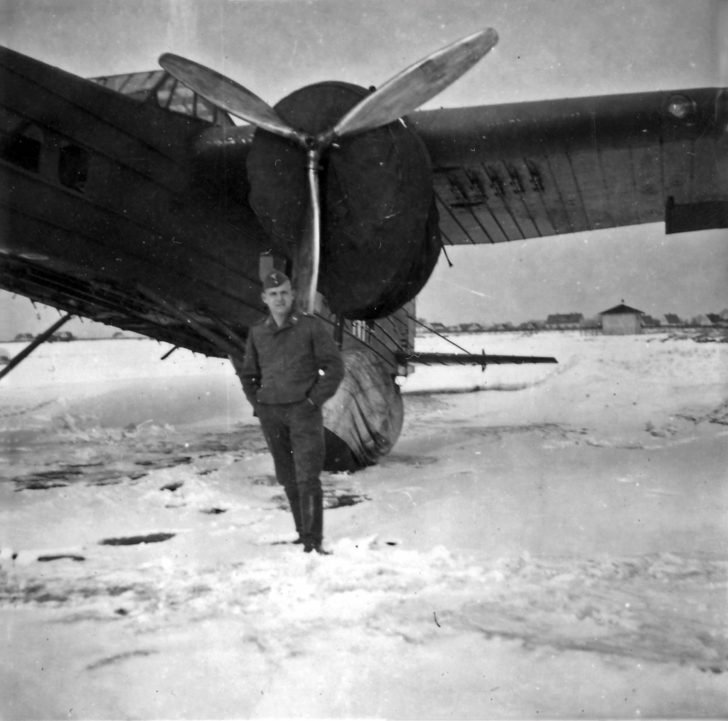 Luftwaffe soldier, Bloch MB.200