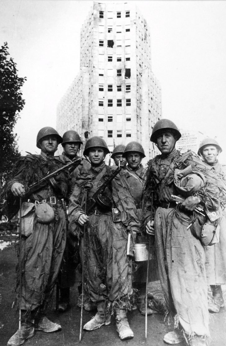 Sappers of the Red Army