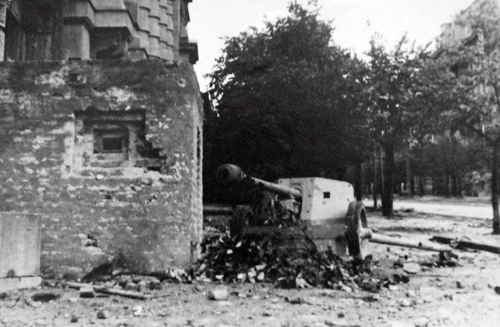 German pillbox, PaK-40