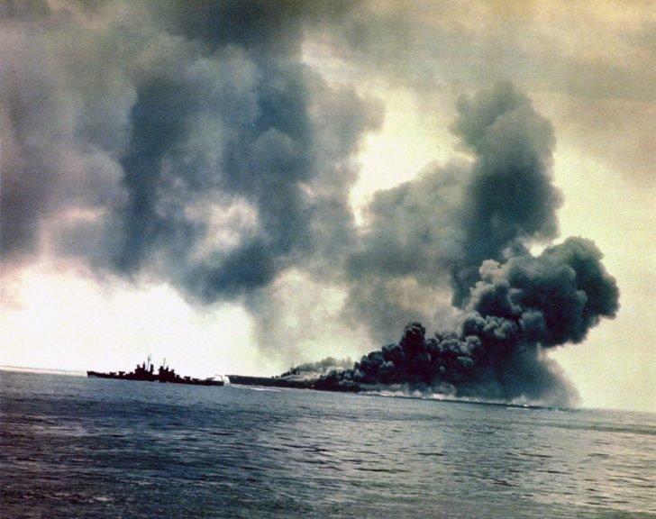 Bunker Hill aircraft carrier