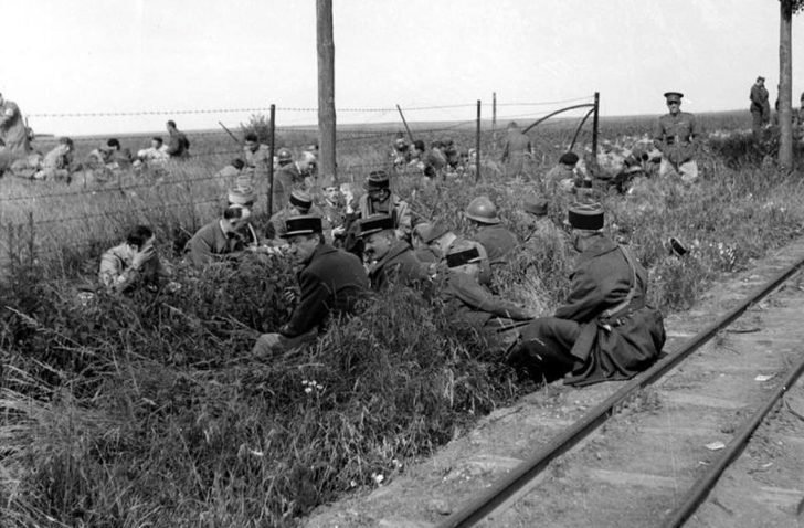 French and British prisoners of war