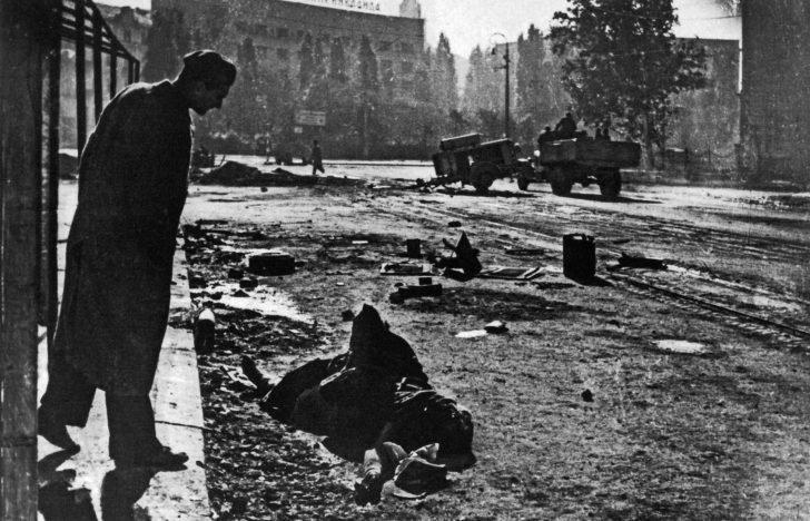 Belgrade resident, German soldier