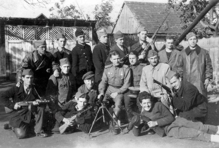 Yugoslav partisans, Soviet officers