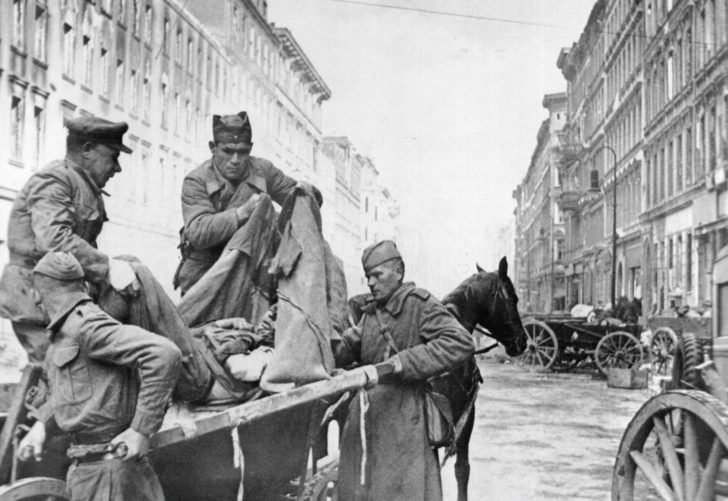 Soviet orderlies