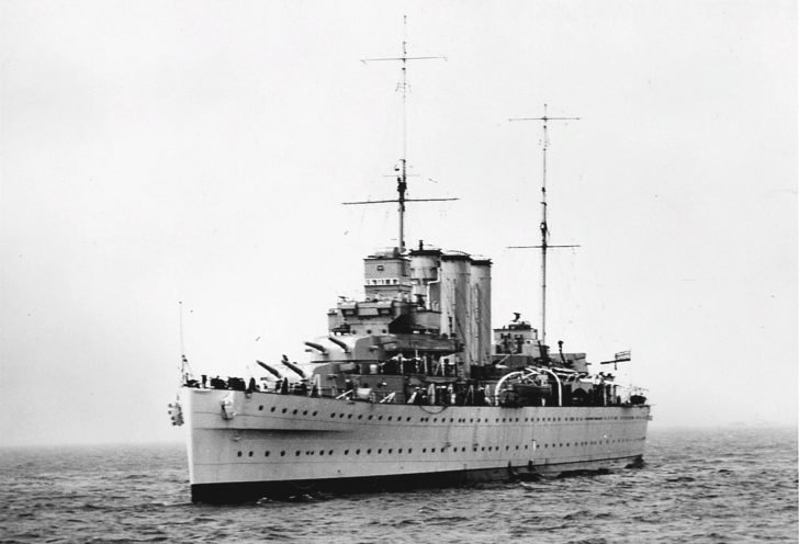 Suffolk heavy cruiser