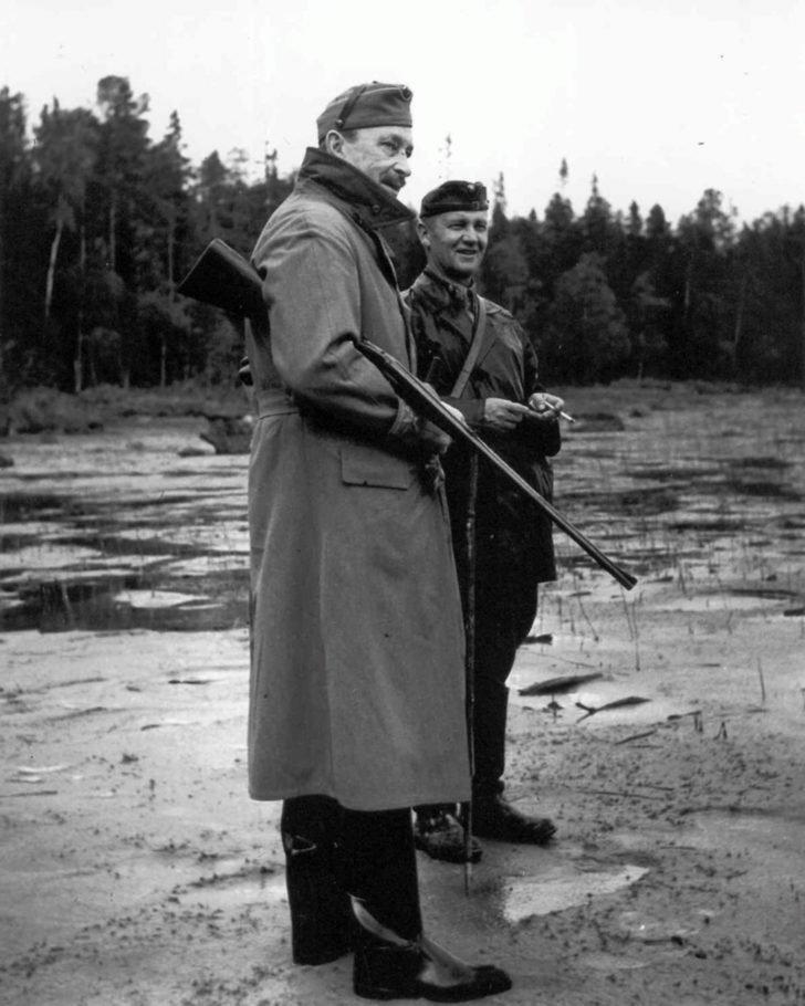 Marshal Karl Mannerheim, Major General Erkki Raappana