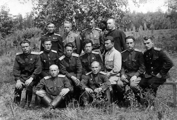 Cadets of the Kuibyshev school