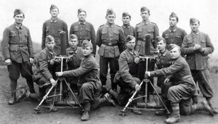 Recruits from Russian Protective Corps of Yugoslavia