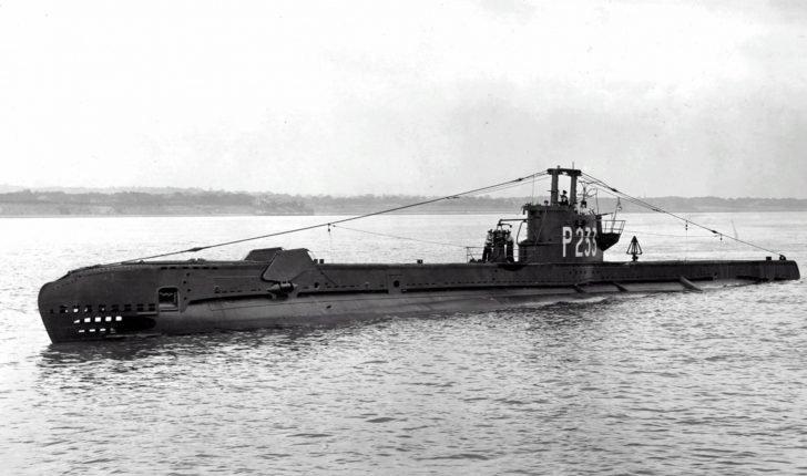 Storm submarine