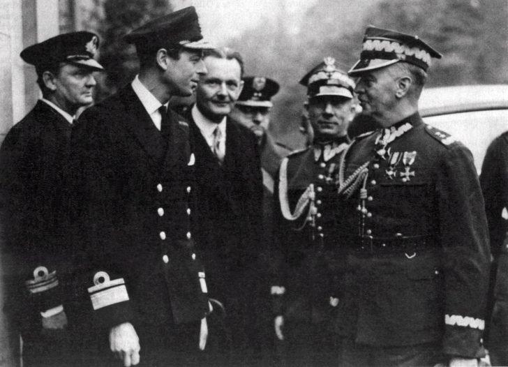 Prince George, General Władysław Sikorski