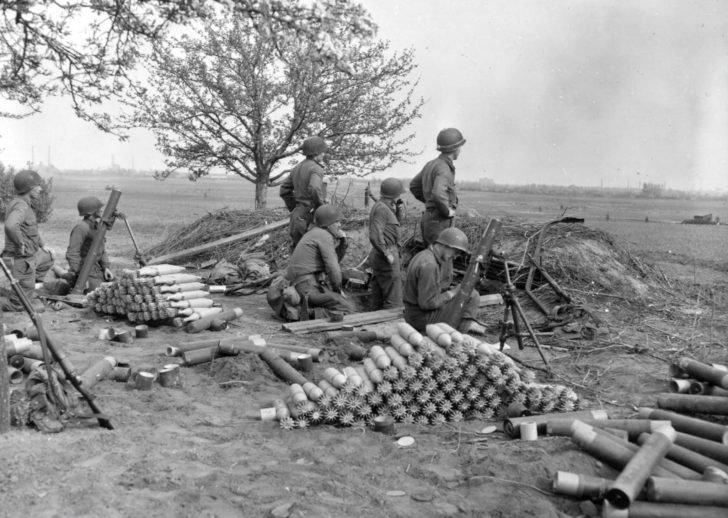 Mortar battery