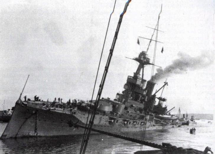 Iron Duke battleship