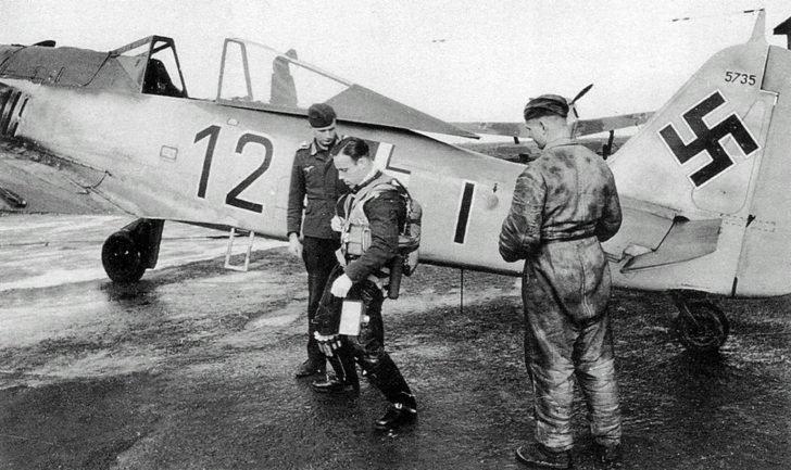 Hauptmann Bruno Stolle, Fw.190A-4