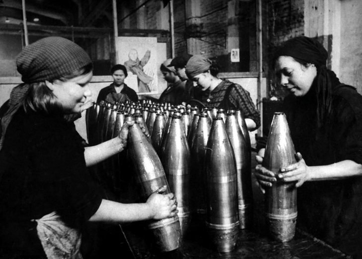 Soviet workers