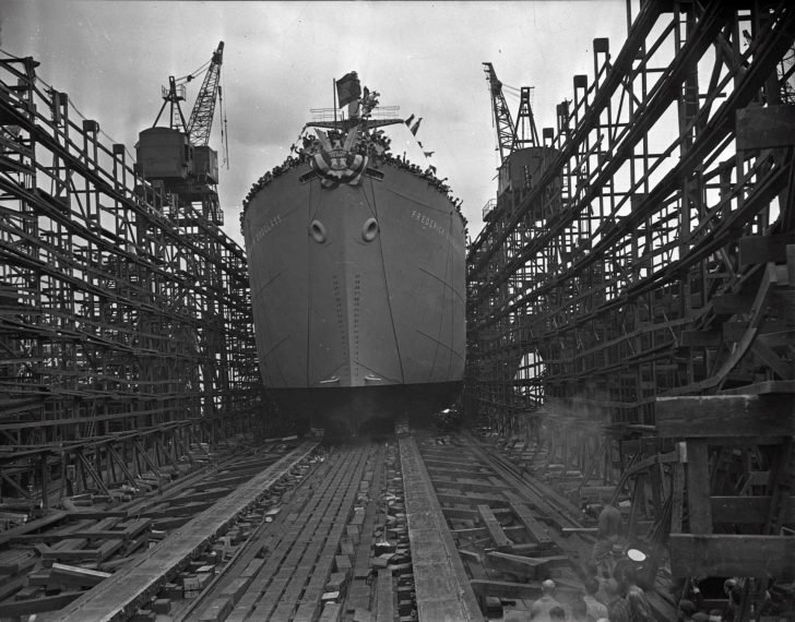 transport ship Frederick Douglas