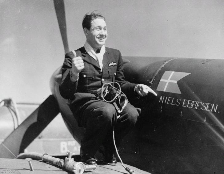 Danish pilot Jorgen Talbitzer