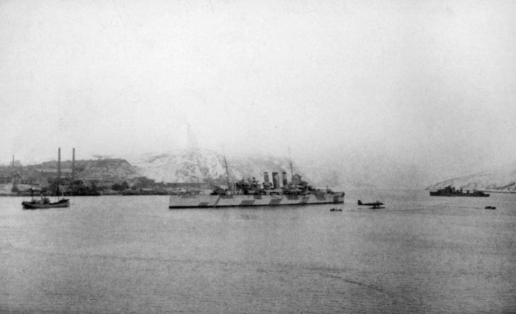 Devonshire Heavy Cruiser