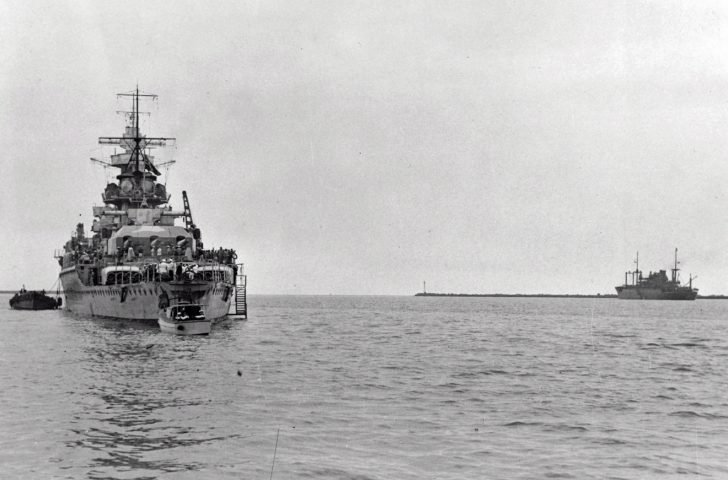 pocket battleship Admiral Graf Spee