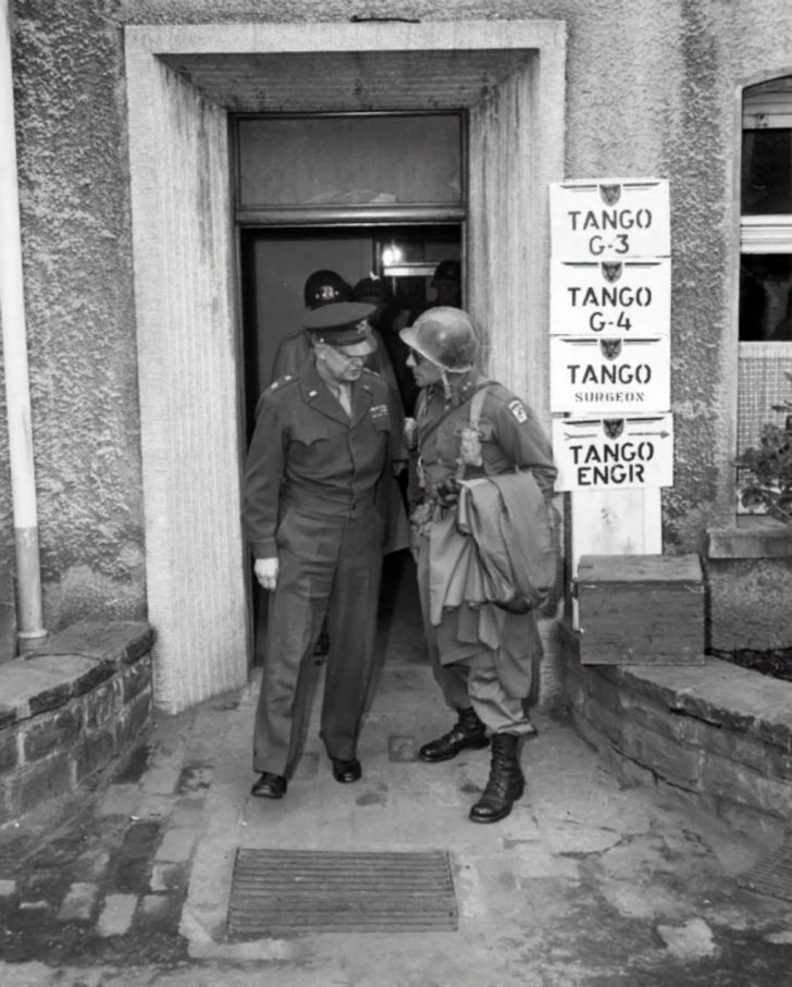 General Dwight Eisenhower, General Matthew Ridgway