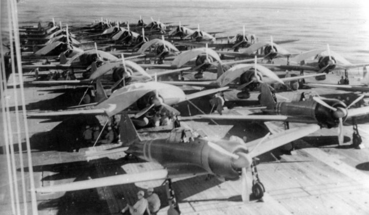 A6M2 Zero, D3A Val, Zuikaku aircraft carrier