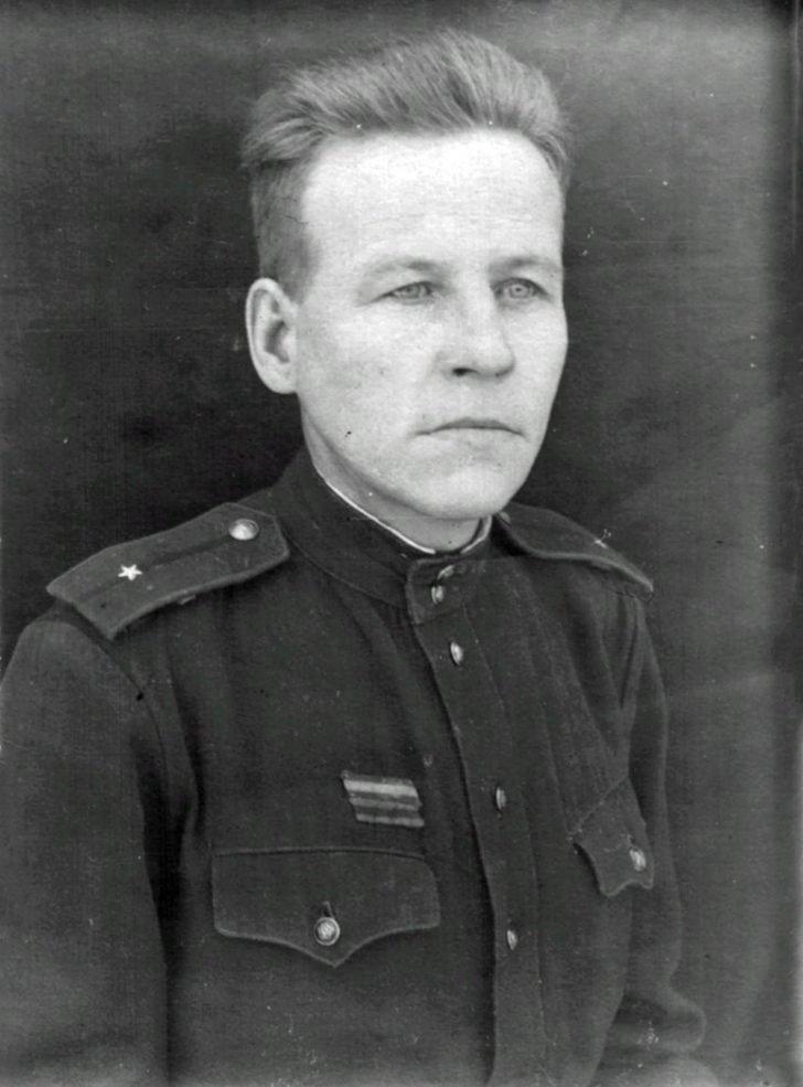 Lieutenant George Anisimov