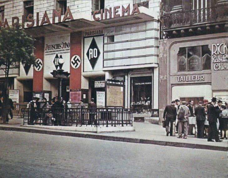 Poissonier Boulevard, Parisian Cinema