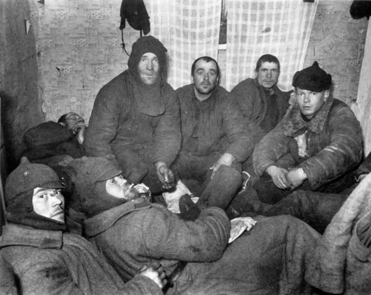 Prisoners of war from the 44th Infantry Division