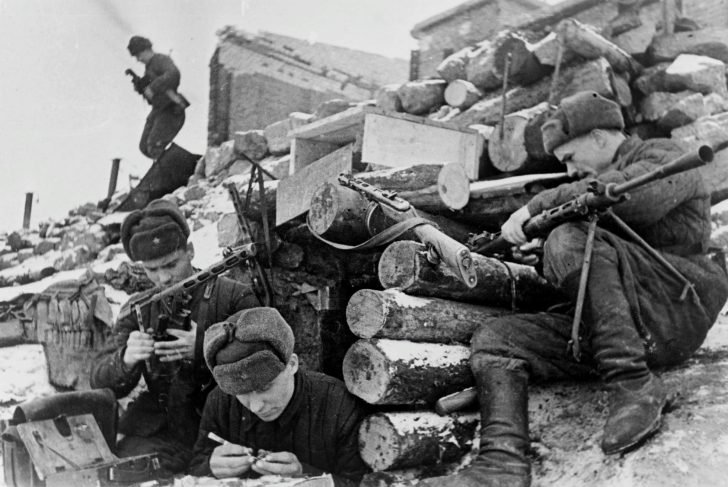 Red Army in the Battle of Stalingrad