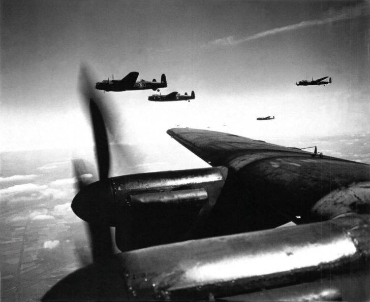 Avro Lancaster bombers
