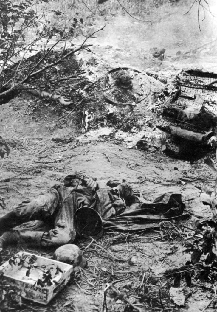 German soldier killed in Operation Barbarossa