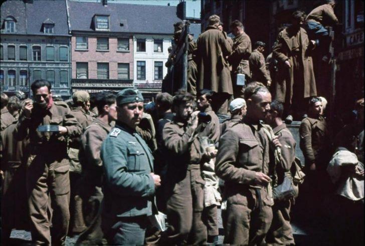 British prisoners of war