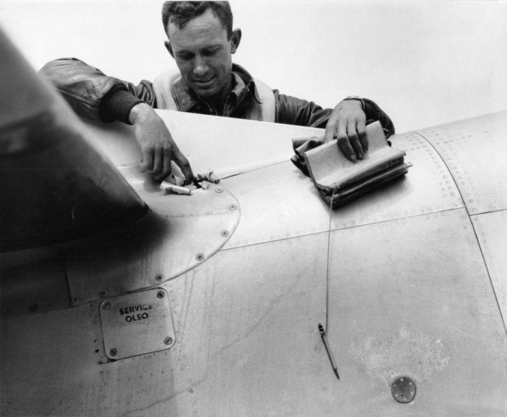 Lieutenant McCorkle, P-51D Mustang