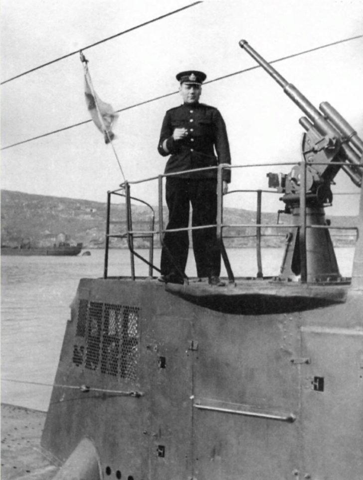 Ivan Kucherenko, S-51 submarine, 45-mm 21-K gun