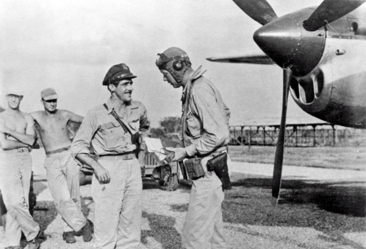 Charles Lindbergh, Thomas McGuire, P-38 Lightning