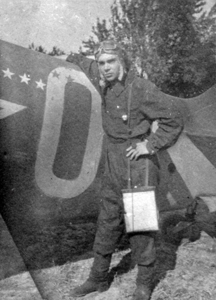 Lieutenant Mikhail Martynov, La-5 fighter