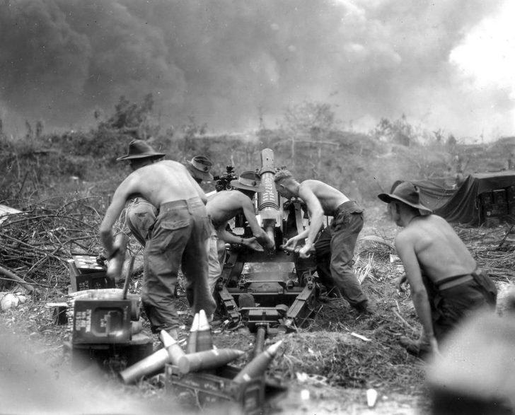Australian gunners