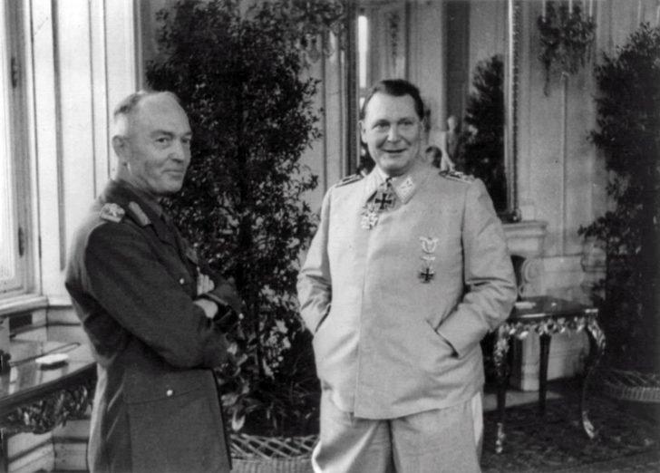 Ion Antonescu, Hermann Goering