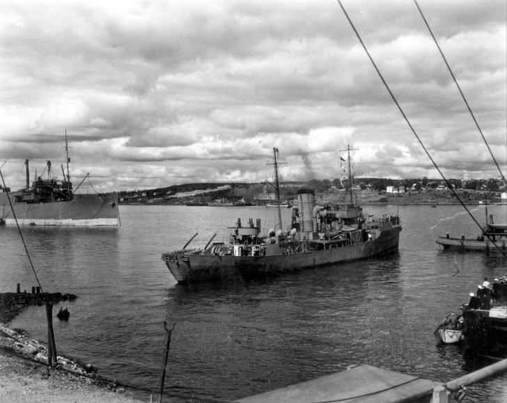 Canadian Navy WW2 corvettes