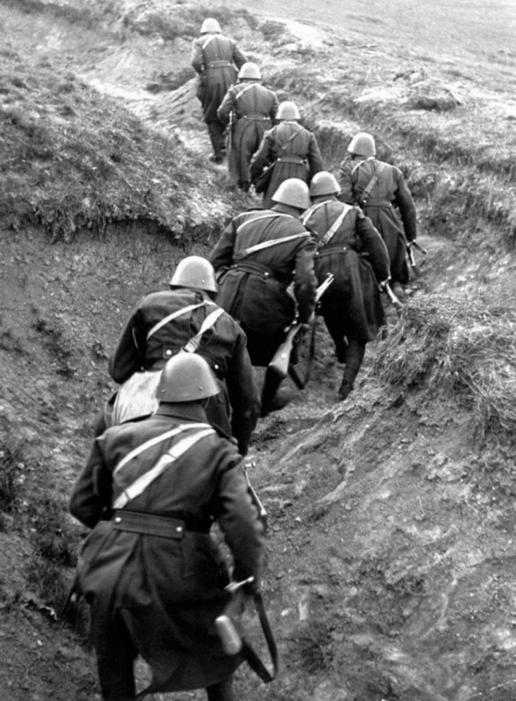 Czechoslovak soldiers in 1938