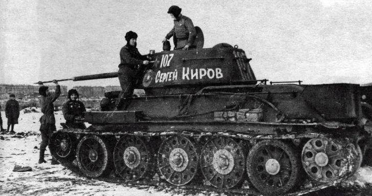 Russian t 34
