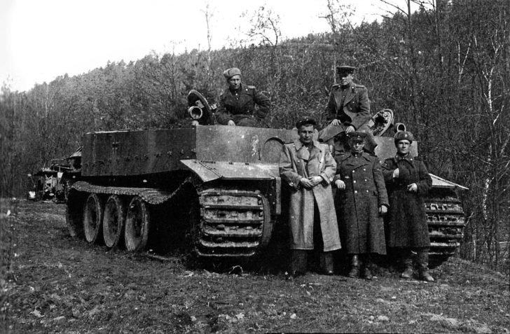 Tiger I German tanks