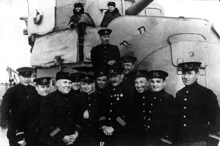 Russian destroyers WW2