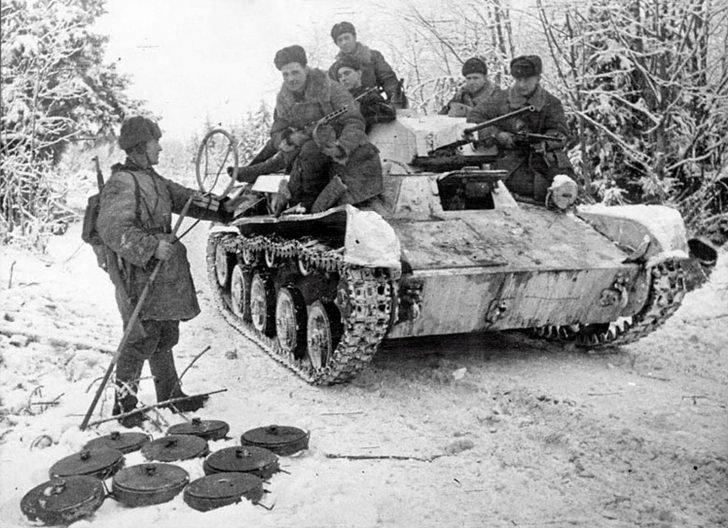 Soviet T-60 tank